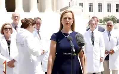 Silenced Frontline Doctors Hold Capitol Hill Press Conference
