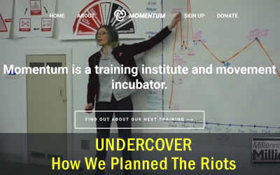 Undercover – Riots were absolutely planned